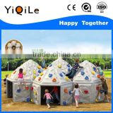 plastic castle playhouse outdoor amusement park ride kids playground houses
