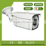1/3 SONY CCD 700TVL IR digital camera with OSD 52pcs LED 8mm CS lens with bracket video camera(TL-IR011)