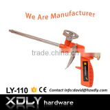 Factory Direct PU polyurethane Spray Foam Applicator Gun CE Certificate with Plastic Body
