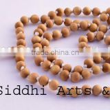 original sandalwood spiritual bead wholesale/loose wood beads/japa mala
