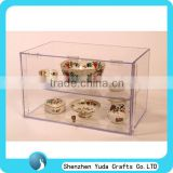 acrylic bowl display case /china display case/collection display case