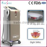 Original UK imported xenon lamp prolong using lifetime intense pulsed light shr elight ipl laser hair removal machine for sale
