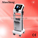 Niansheng skin scrubber skin rejuvenation led BIO microcurrent aqua diamond dermabrasion beauty machine