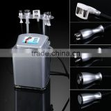 Radio frequency cryotherapy auto-roller vacuum body sonic cavitacion slimming machine