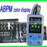 Promotion 24 hour BP measurement interval recording Ambulatory Blood Pressure Monitor ABPM2 with free cuff
