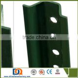 Metal Pole for Traffic Perforated galvanized metal sign post