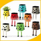 Cute and Colorful flower pot for balcony Flower pot at reasonable prices small lot order available