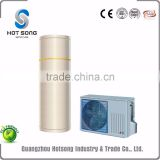 top selling household air source r410a residential series mini split style heat pump 4.8kw water heater with hitachi compressor