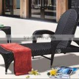 GOOD QUALITY PEOPLE LOUNGER FURNITURE SUNLOUNGES UV resistant garden furniture rattan Sun lounger