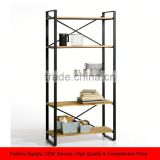 Loft Home Office Metal Multi Tier commodity shelf