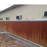 Poultry Farm Cooling  System with Air Inlet