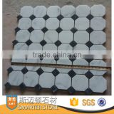 Carrara White octagon marble mosaic tile for wall