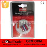 10Pc Car Ceramic Fuses .Standard Auto Fuse Kit .Mixed Standard Car Auto Blade Fuse.P0324