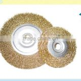 round cleaning circular steel wire brush