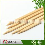 Eco-friendly Barbeque Bbq Natural Small Flat Factory Direct Bamboo Pick For Cake