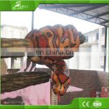 Playground life size prehistory robot realistic animal model