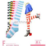 Long tight socks with stripes wholesale striped tube socks