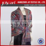 Comfortable Alibaba Supply Top Quality Colorful Shawls