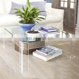 clear square pmma plexiglass acrylic dinner table