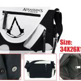 Assassins Creed Game Canvas Satchel/Shoulder bag,anime Bags