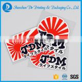 Custom Design Car Sticker 3M Material Reflective Sticker