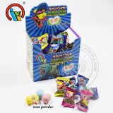 Bubble Gum Filled Sour Powder Candy