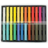 2013 latest 24 colors set temporary hair dye chalk