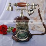 Retro style antique telephone lamp
