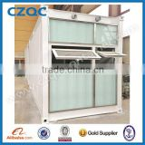 wholesale price UPVC double glazing sliding windows, high quality double shutter/panel