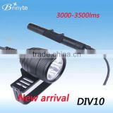 Brinyte DIV10 LED Dive Light Underwater Scuba Torch