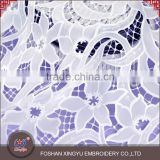 New special design best price fashion water soluble lace fabric for curtain/bridal                                                                                                         Supplier's Choice