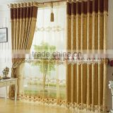 The bedroom windows bed room curtain and living room curtain elegant living room curtain                                                                         Quality Choice