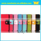 Color blocking flip leather case for xiaomi mi3
