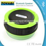Bluetooth speaker with Control Buttons and Dedicated Suction Cup for Showers, Bathroom, Pool, Boat, Car, Beach, & Outdoor Use(