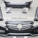 For Mercedes Benz E63 W212 Restyling body kit upgrade E200,E260,E300,E350,E400/material best PP from factory