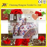 twill polyester material fabric disperse printed textiles fabric for home textile/polyester brushed flower designs fabric