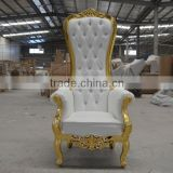 gold high back chairs throne chairs XYN2131