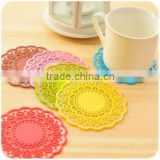 flower magic decor sugar silicone cup mat