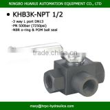 New product top sell cast iron ball stop cock valves