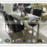 LT1302#2014 new design hot sale extendable dining tables