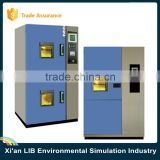 2-zone Basket Type Thermal Shock Chamber With Programmable Controller DWM Copeland Compressor