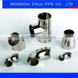 Stainless Steel Pipe Fitting 304L Butt-Welding Reducing Tees Made In China Ppr Pipe and Fitting