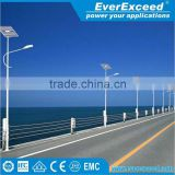 EverExceed high specification Solar Power Street LED Light System with 12/24v Circuit with automatic controller