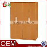 hot sale cheap modern high quality MDF 4 door wooden bedroom wardrobe clothes closet B08
