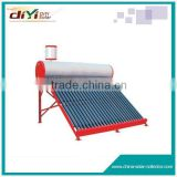 Easy to install and operate low pressure solar water heater in china , lower price water heater