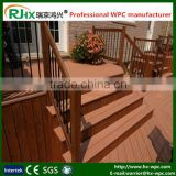 Outdoor playground fences and gates with high quality wood-plastic composite decking floor