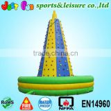 attractive customized giant inflatable climbing wall price