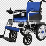 Foldable Electric Wheelchair for The Disabled and Elderly People