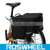 Double Rear Pannier Bag/Bike Bag For everyday and free time activites folding bike bag bike double rear pannier bag