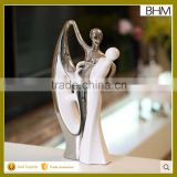 Home decor 2016 wedding figurine ceramic art interior home decoration for souvenir gifts